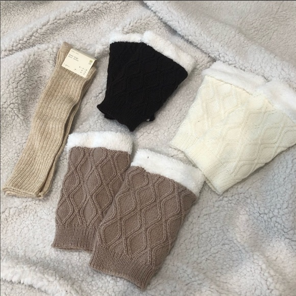 Bundle of boot sock and leg warmers